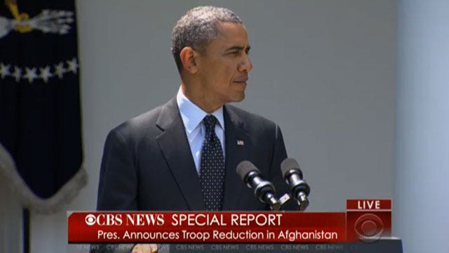 White House: US Will Have 9,800 Troops In Afghanistan After 2014