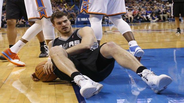 NBA Fines Spurs' Splitter $5K For Flopping