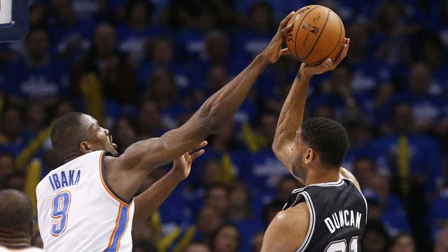 Thunder 105, Spurs 92: By The Numbers