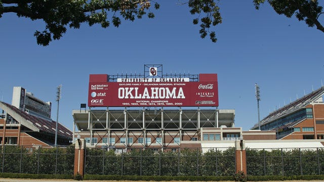 Kickoff Times Set For Sooners Against Tennessee, Louisiana Tech