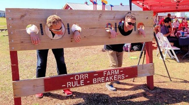 News 9 Joins Weather Roundup At Orr Family Farm