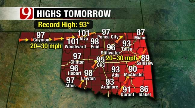 Potentially Record-Breaking Hot Days Ahead