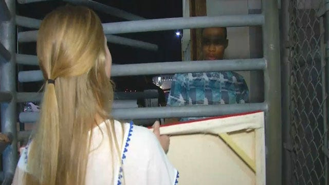 Russell Westbrook Signs Thunder Fan's Painting