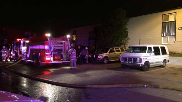 Woman Rescued From OKC Apartment Fire