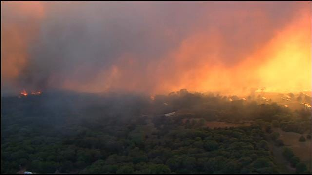 One Dead After Controlled Burn Causes Large Wildfire In Logan County