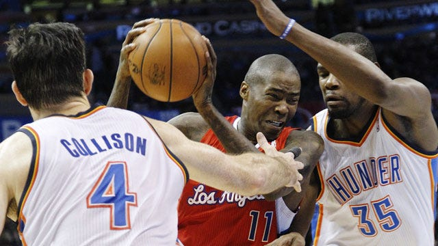 Thunder Will Play Clippers In Western Semifinals