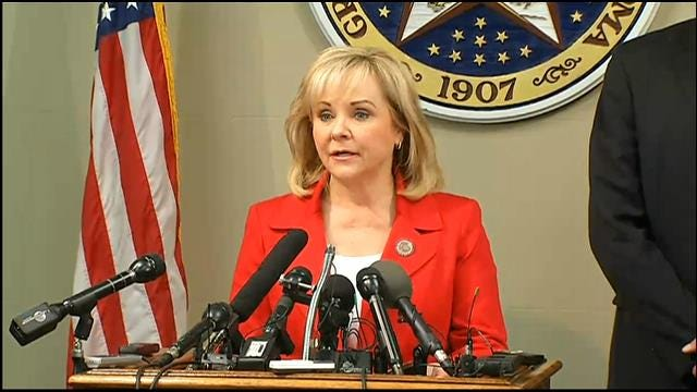 Governor Mary Fallin Declares Statewide Emergency, Issues Burn Ban For 36 Counties