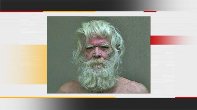 Naked OKC Man Wielding Meat Cleaver Arrested For Assault