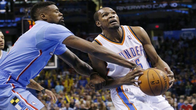 "Thunder Ready To ""Go All Out"" Against The Clippers"