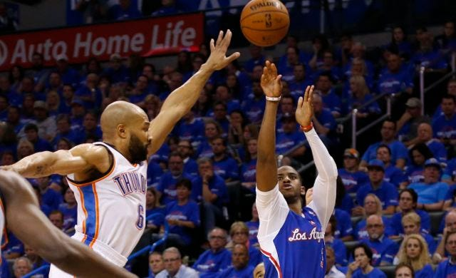 CP3-Point Clinic: Paul's Eight 3-Balls Help Clippers Crush Thunder