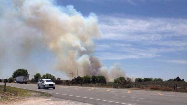 Large Wildfire Prompts Evacuations In Woodward County