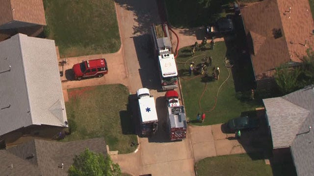 One Seriously Injured In Southeast OKC House Fire
