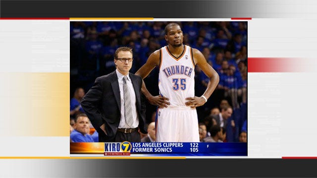 Seattle TV Station Refers To OKC Thunder As 'Former Sonics'