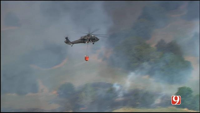 Wildfires Spark Questions Over Need For Additional Air Support