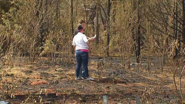 County Assessors Survey Guthrie Wildfire Damage