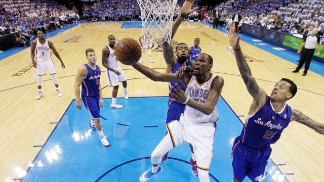 Most Valuable Performance: Balanced Thunder Sinks Clippers In Game 2