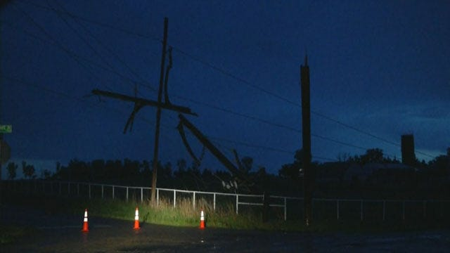 Storms Cause Damage, Power Outages In OKC Metro