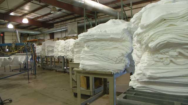 News 9 Gets A Look Inside Company That Makes Thunder Playoff Tees