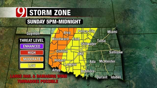 Risk Of Severe Weather Ramps Up Over Mother's Day Weekend