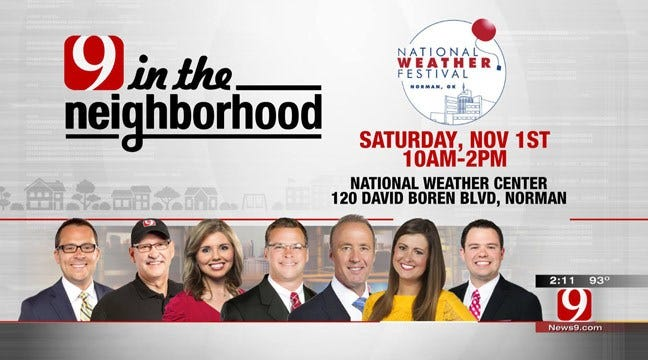 Meet News 9 Weather Team At National Weather Festival In Norman