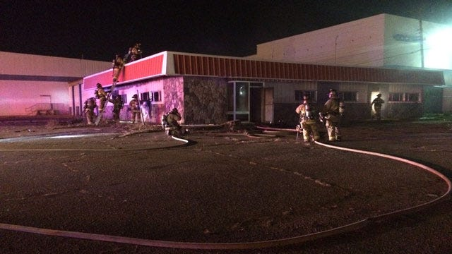 Crews Respond To Reported Commercial Fire In SW OKC