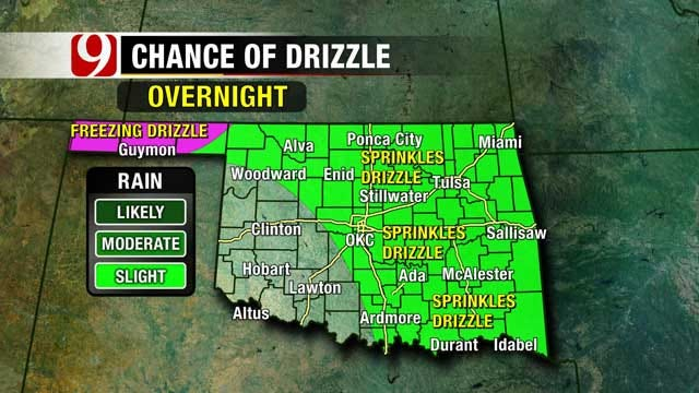 Strong Arctic Cold Front Headed For Oklahoma