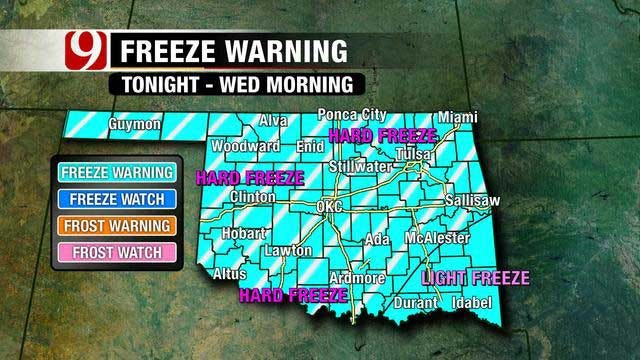 Cold Arctic Air Arrives, Potential For Wintry Mix This Weekend
