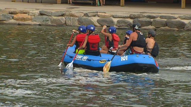 From Charlotte To OKC: A Whitewater Connection