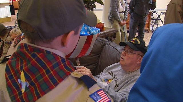 Veterans Share Military Stories With Edmond Cub Scouts