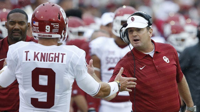 Oklahoma Football: Knight Out With Injury For Texas Tech