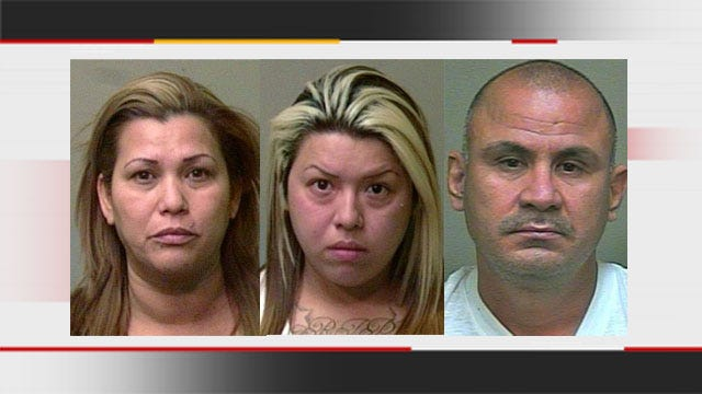 3 Arrested For Shoplifting Nearly $15K Worth Of Items From OKC Mall
