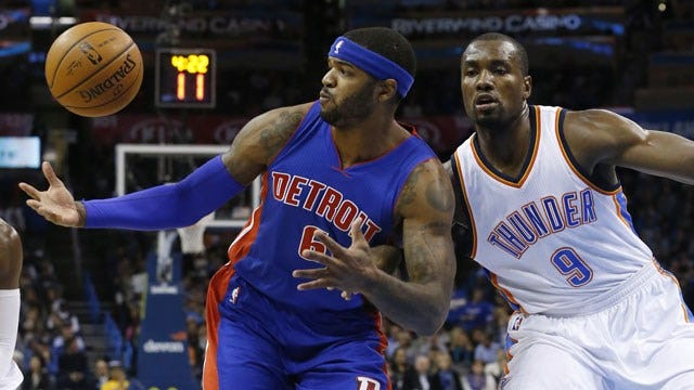 Jennings Gets Hot As Pistons Pull Past Thunder