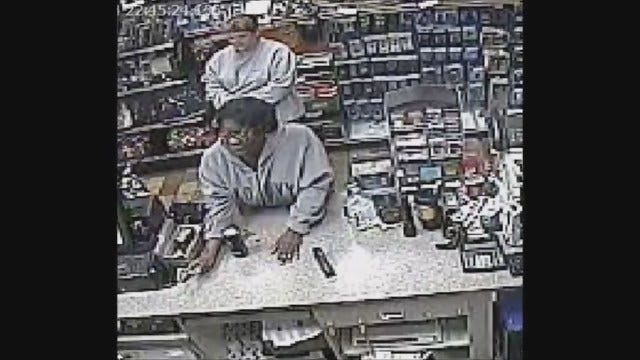 OKC Police Seek Two Suspects In Convenience Store Robbery