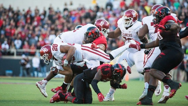 Ground Assault: Sooners Pound Red Raiders On Ground For Win
