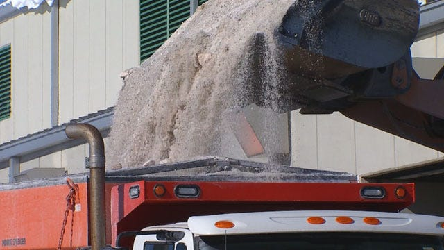 OKC Crews Prepared For Potential Ice And Snow