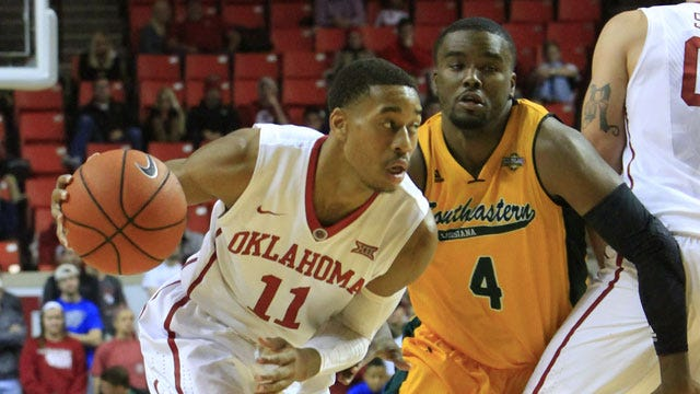 Oklahoma Uses Quick Start To Race Past Lions
