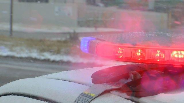 Slick Roads Cause Dozens Of Wrecks Across The OKC Metro