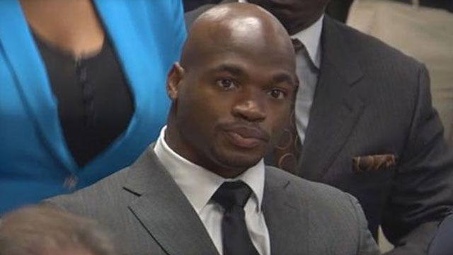 Adrian Peterson Suspended Without Pay For Remainder Of 2014 NFL Season