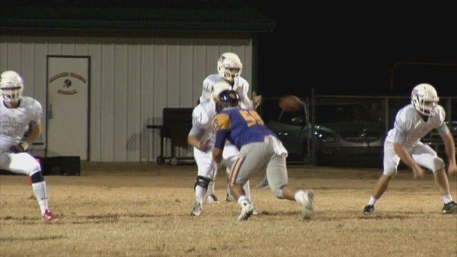 High School Football: Playoffs Round Two Locker Room