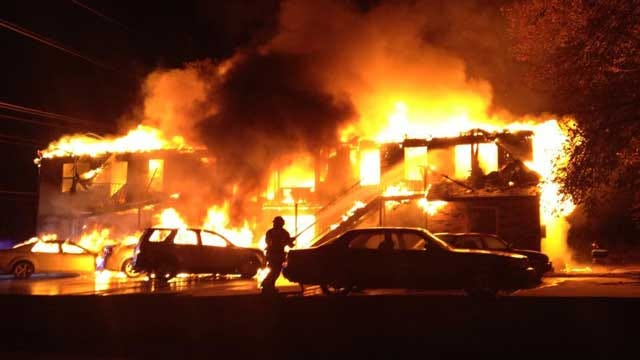 Infant Killed, Multiple Injuries Reported In Large Guthrie Fire