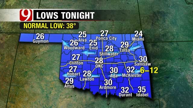 Rain Storms Expected This Weekend In OK, Winter Weather On The Horizon