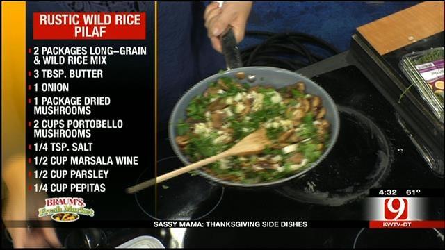 Rustic Wild Rice Pilaf