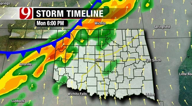 Gusty Day With Cold Front, Chance Of Rain Tomorrow