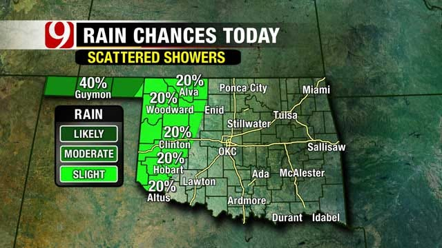 November Brings Chilly Weather, Rain Chances In Oklahoma