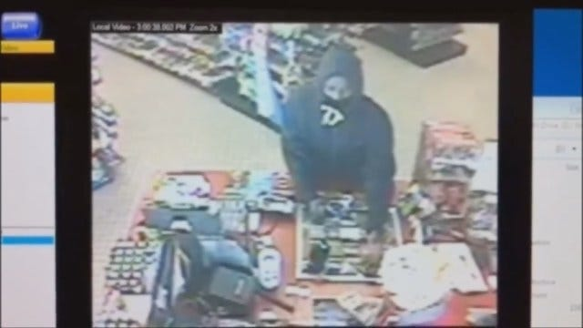 Man Caught On Camera Robbing OKC Convenience Store At Gunpoint