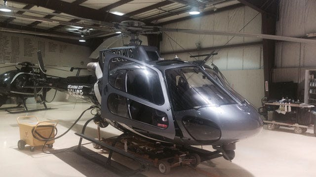 OKC Police Unveil New Air 1 Helicopters