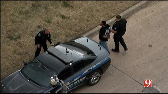 Authorities Catch SW OKC Car Chase Suspect