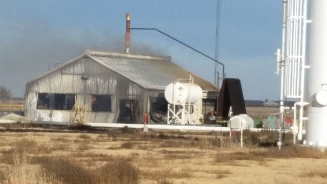 Two Workers Critically Injured In Explosion Near Guymon