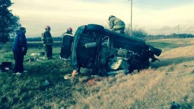 Five People Killed In Nowata County Crash