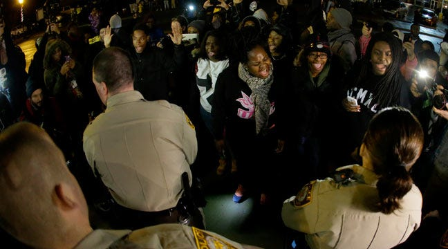 Final Preparations Being Made For Ferguson Grand Jury Decision